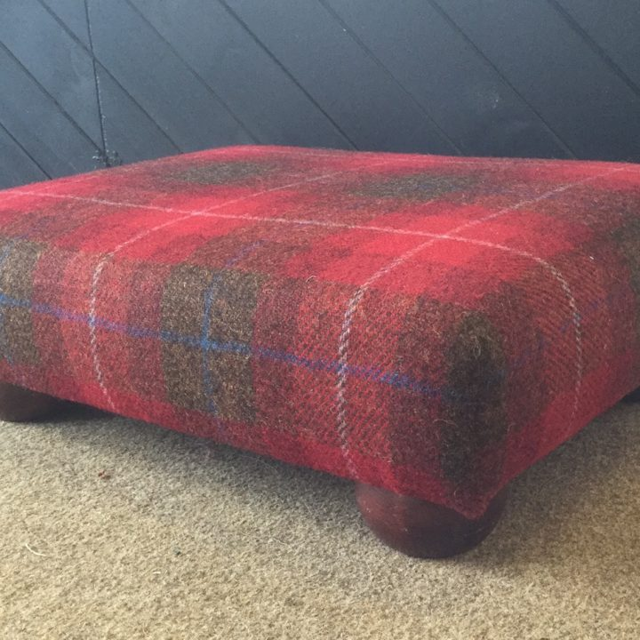 Harris Tweed Stool
