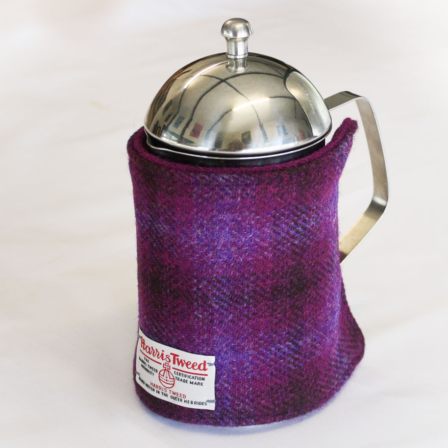 Harris Tweed Cafetiere Cover