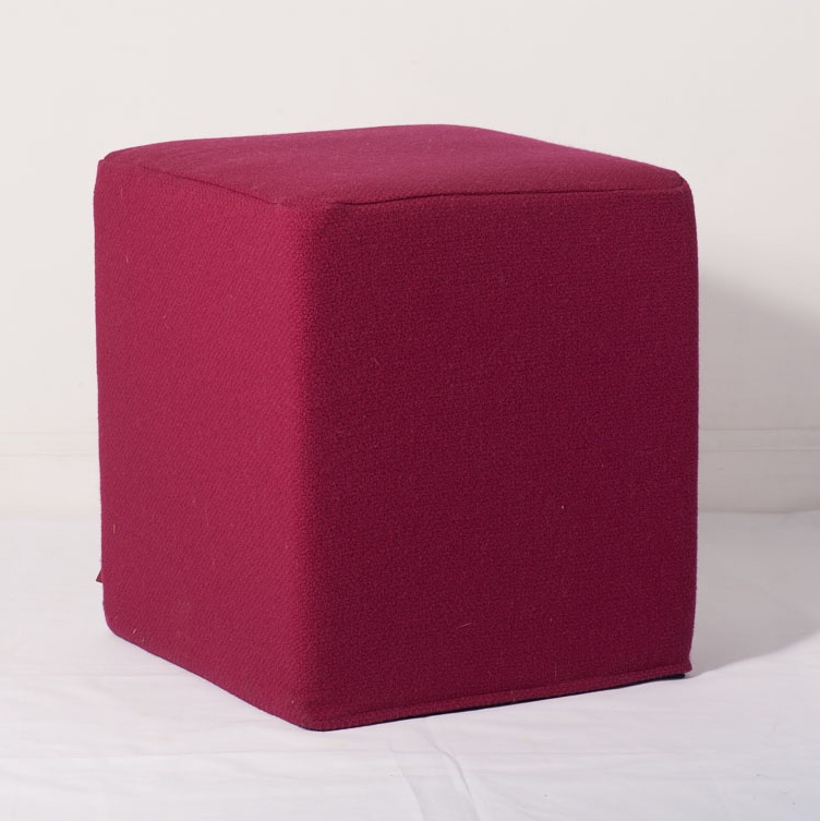 Cube footstool