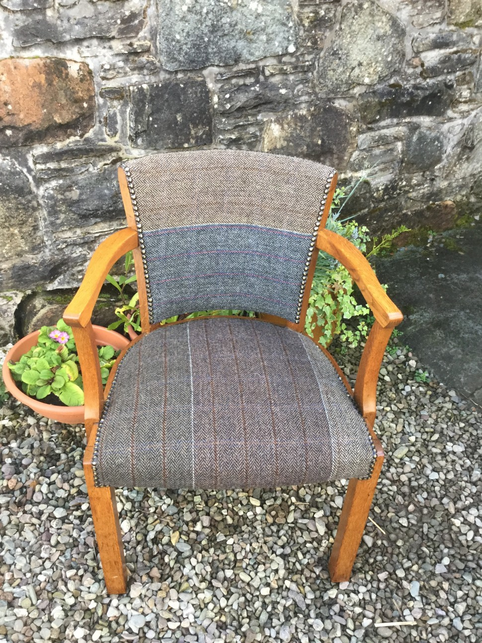 Harris Tweed Chair