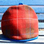 harris Tweed red tea cosy